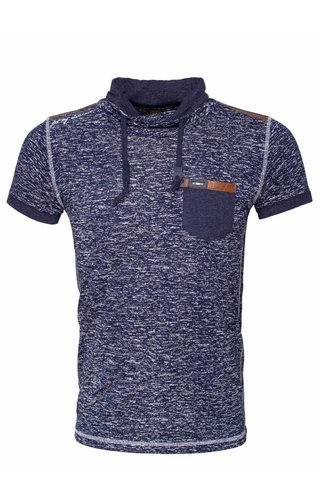 WAM Denim t-shirt mixed navy 79321