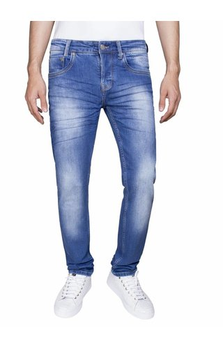 Wam Denim jeans lichtblauw regular fit