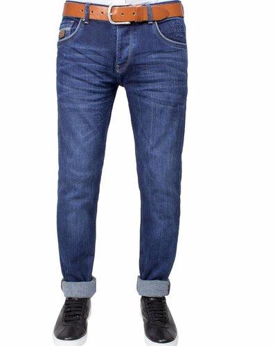 WAM Denim navy regular jeans
