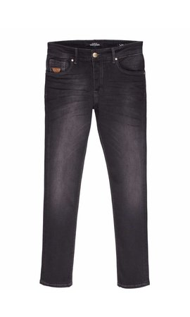 Wam Denim jeans slim fit donker grijs