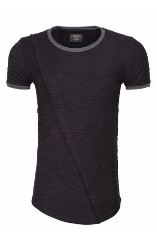 WAM DENIM LONG FIT T-SHIRT BLACK 79336