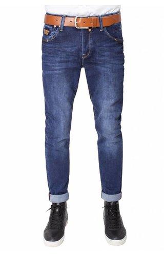 WAM Denim blue regular jeans with light washing