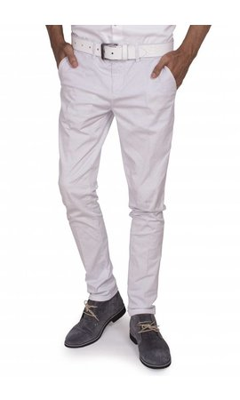 Wam Denim chino white regular fit