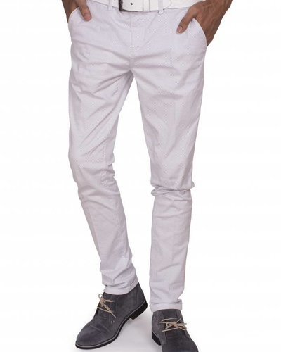 WAM Denim white slim fit chino