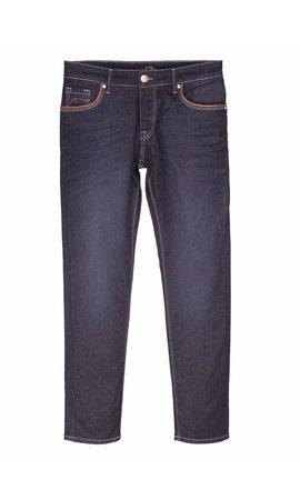 WAM DENIM REGULAR JEANS DARK BLUE 72034