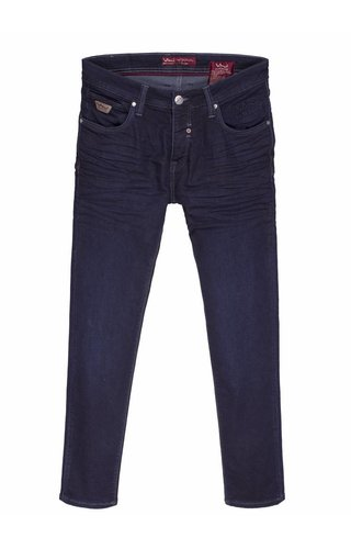 Wam Denim jeans donkerblauw slim fit
