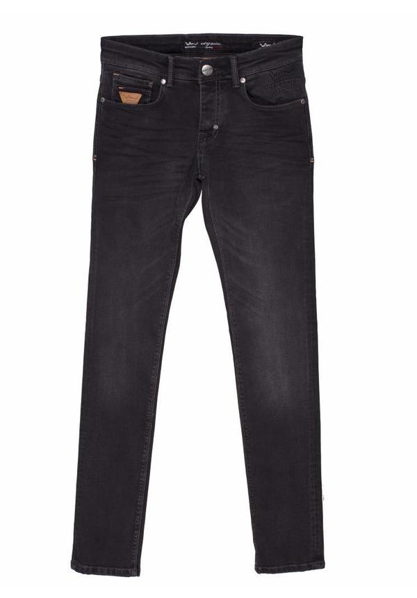 WAM Denim anthracite jeans with regular fit