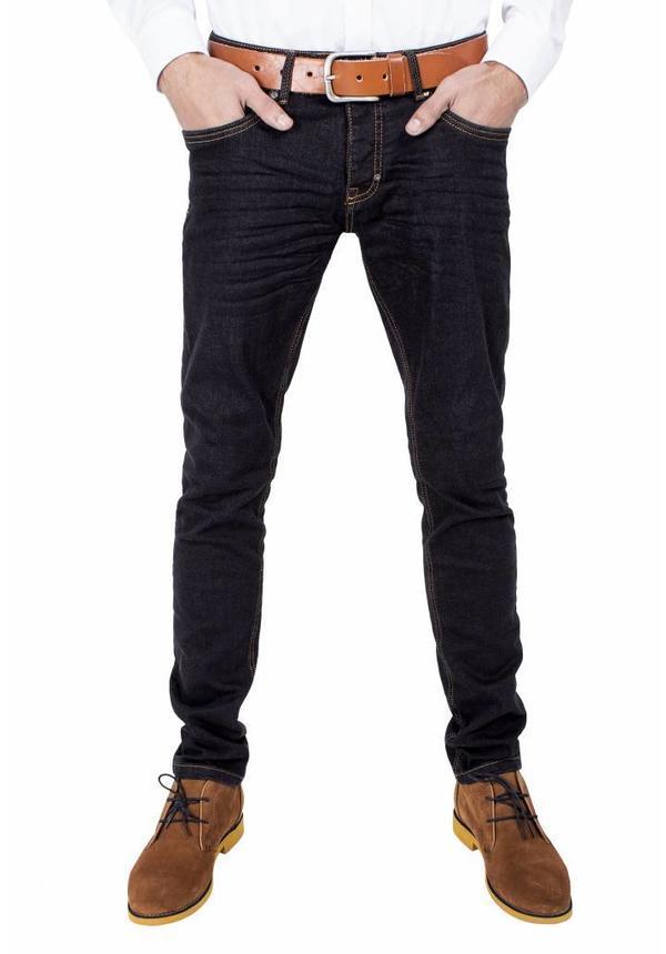 WAM Denim slim fit jeans black