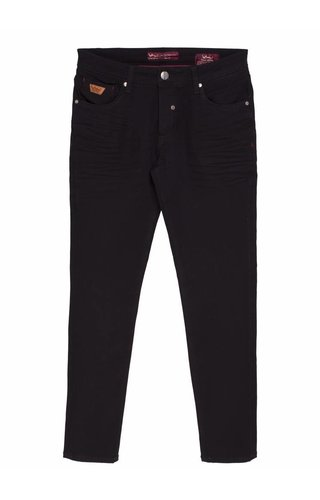 WAM Denim black jeans with regular fit