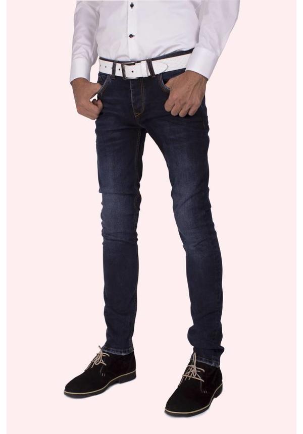 Arya Boy dark navy jeans with slim fit