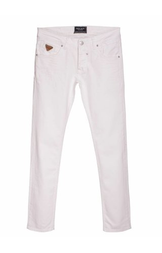 Arya Boy white 5 pocket jeans