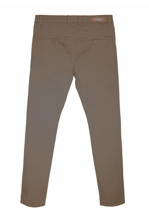 Gaznawi chino brown regular fit
