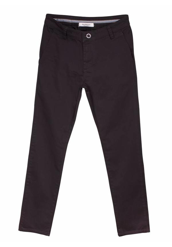 Gaznawi chino black regular fit