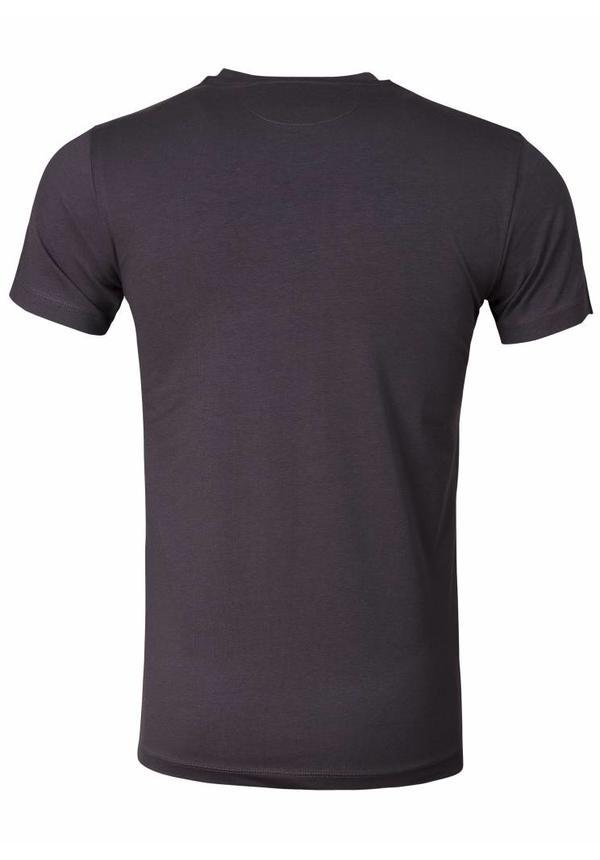 WAM Denim t-shirt with Hawaii print slate grey 79208