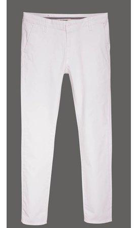 Gaznawi chino white regular fit