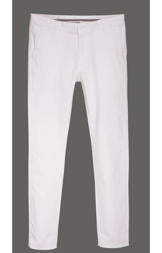 Gaznawi chino white regular fit