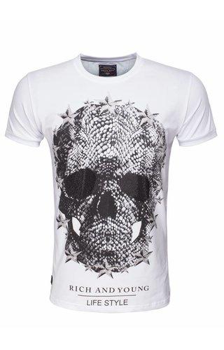 Arya Boy t-shirt wit