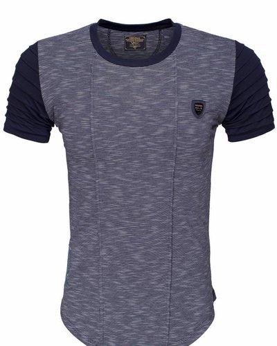 WAM Denim navy long fit t-shirt