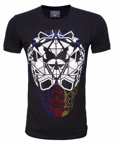 Arya Boy black t-shirt with print
