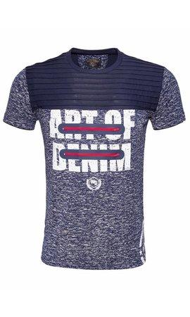 WAM Denim t-shirt navy 79388