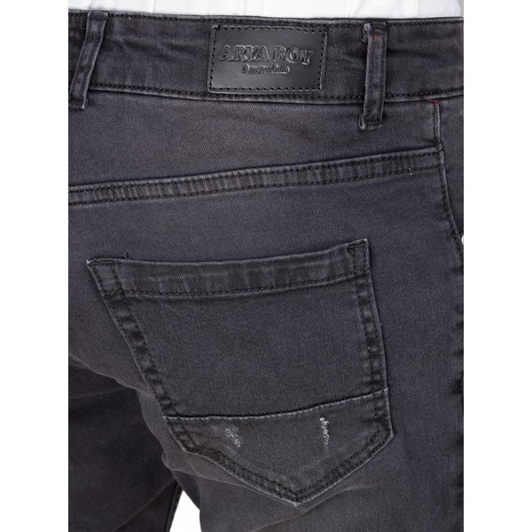 Arya Boy slim fit jeans zwart 82050