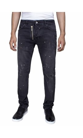 ARYA BOY Arya Boy slim fit jeans black