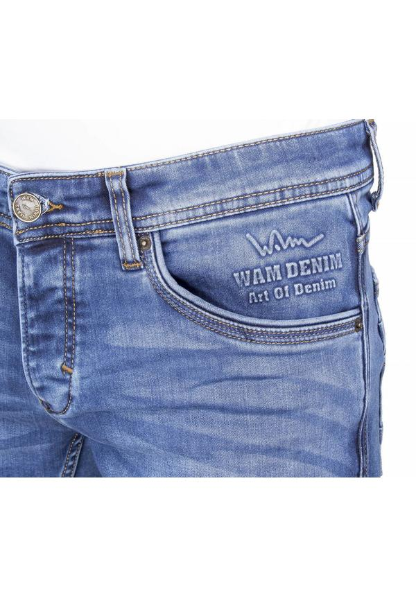 Wam Denim regular fit jeans donkerblauw