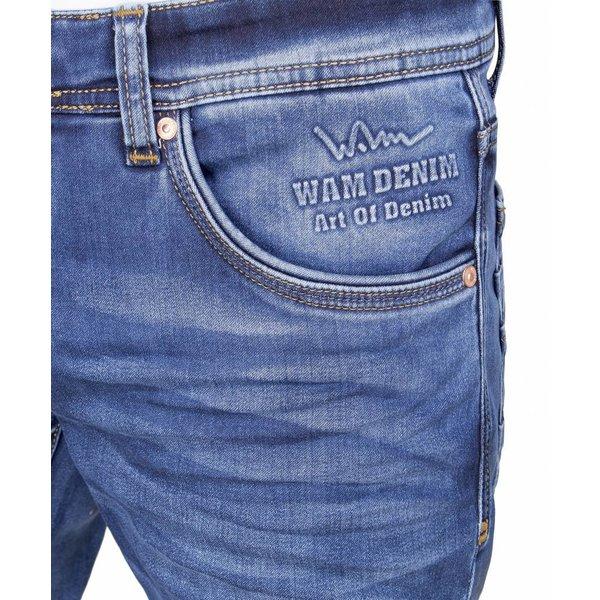 WAM Denim slim fit jeans navy 72078