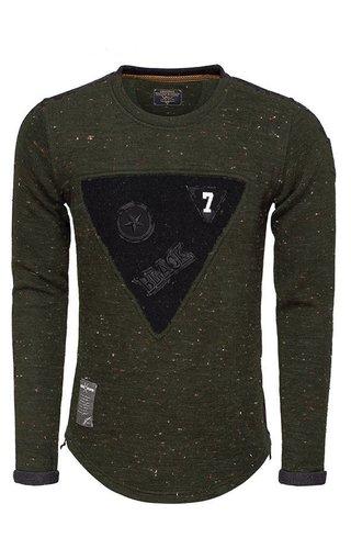 WAM Denim sweater khaki 76162