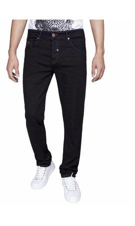 Gaznawi jeans zwart slim fit