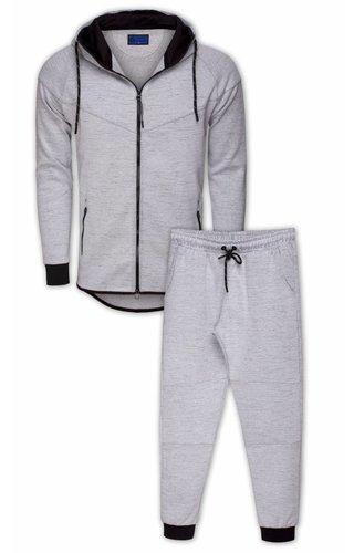 Arya Boy sweatsuit grey 86202