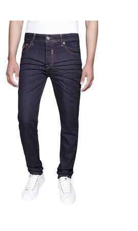 Gaznawi jeans dark navy regular fit