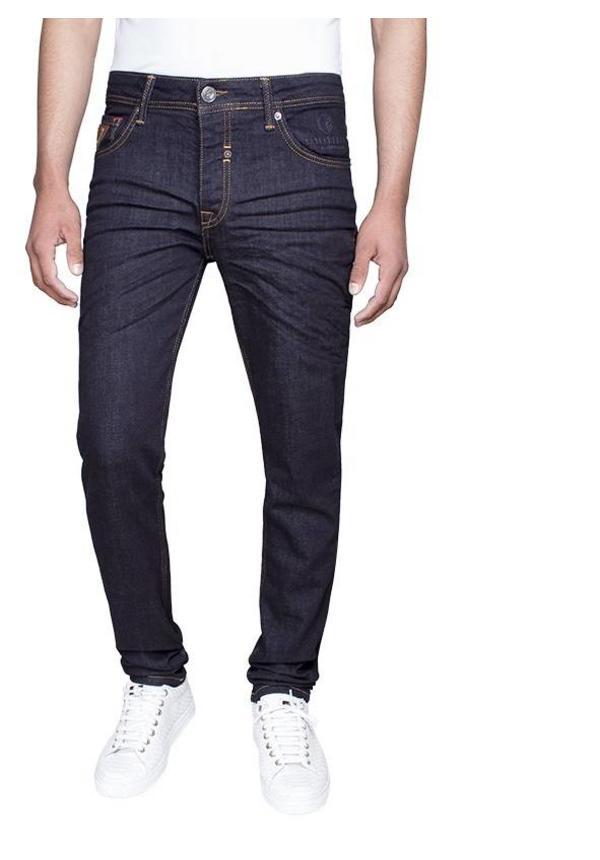 Gaznawi jeans donker navy regular fit