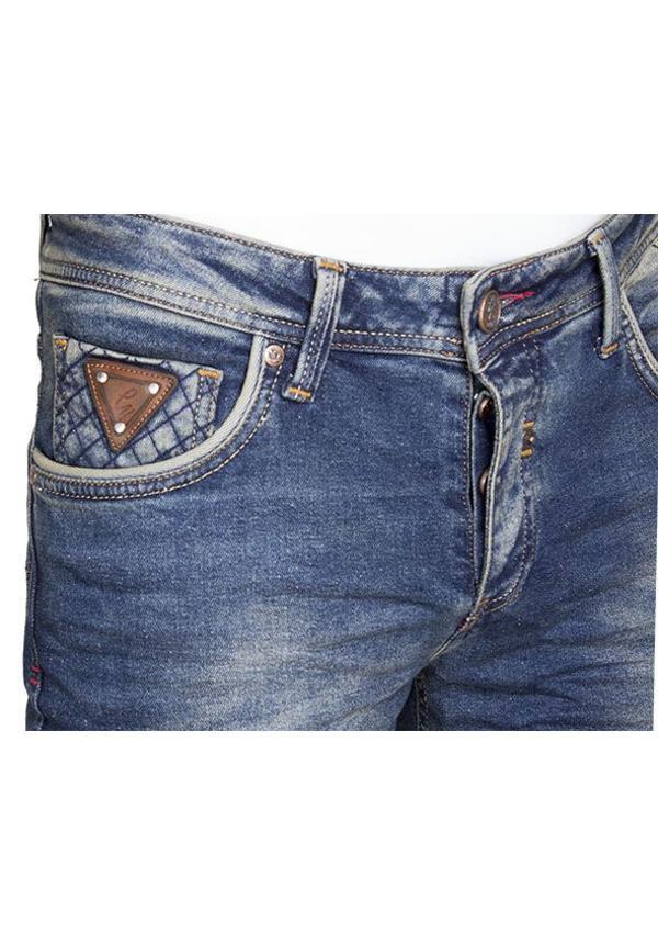 Gaznawi jeans donker blauw regular fit