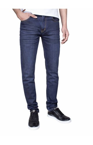 ARYA BOY Arya Boy jeans donkerblauw regular fit
