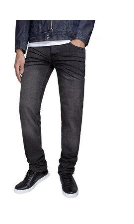 Gaznawi jeans zwart regular fit