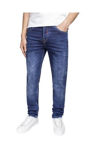 Wam Denim jeans dark blue regular fit