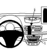 Brodit Renault Fluence Grundhalterung Oben