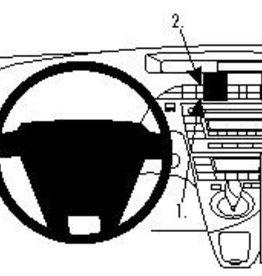 Brodit Toyota Prius Grundhalterung