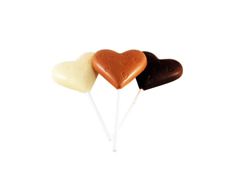 CHOCOLADE LOLLY MELK/PUUR/WIT