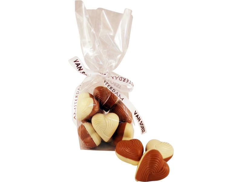 CHOCOLADE HARTJES PRALINE