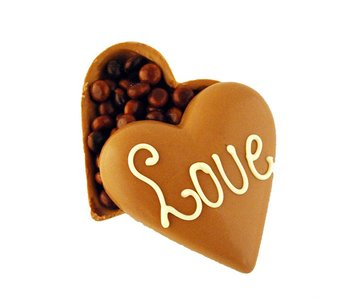 HEART LOVE CHOCOLATE PEARLS