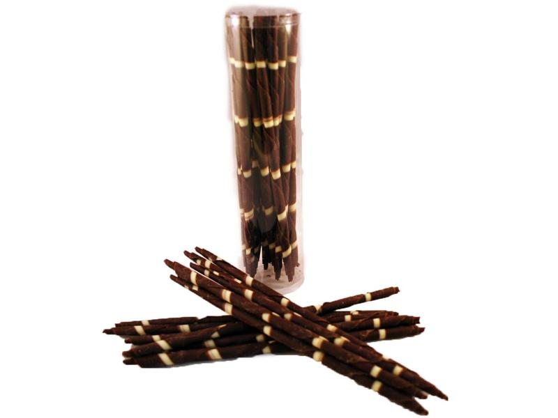 CHOCOLADE PENCIL PUUR GROOT