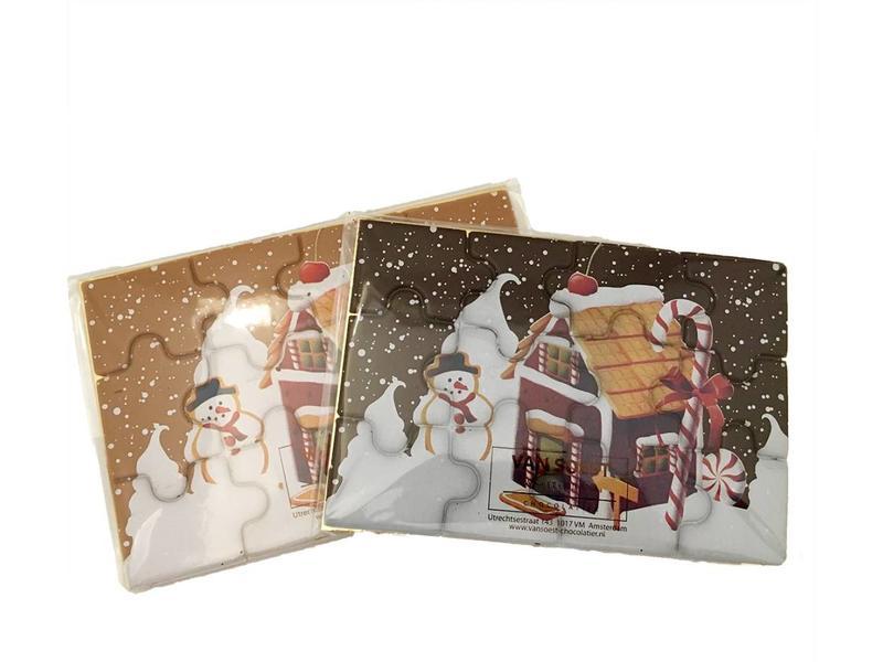 CHOCOLATE CHRISTMAS PUZZLE - Copy