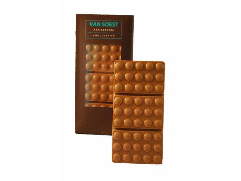 CHOCOLATE BAR FILLED HAZELNUT PRALINE