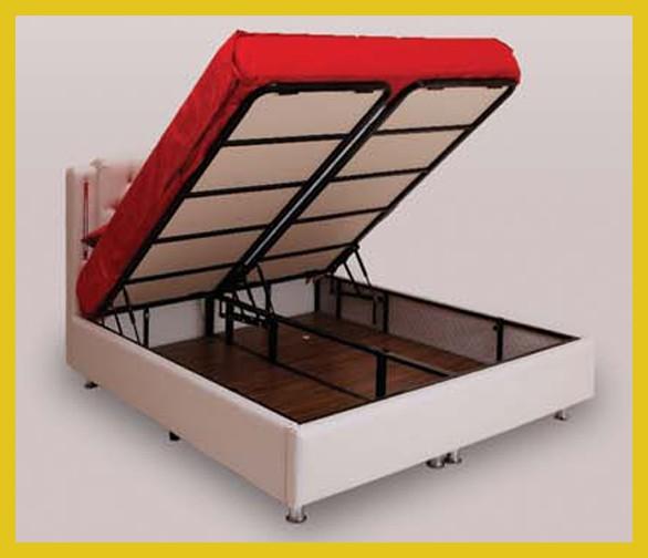 Bed2U Boxbed met Opbergruimte - Bed2U