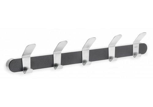 BLOMUS VENEA coat rack 5-hook (black)