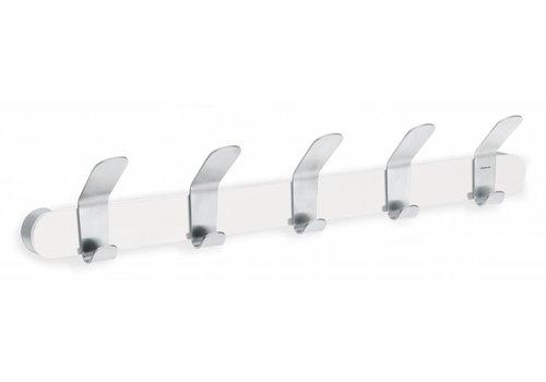 BLOMUS VENEA coat rack 5-hook (white)