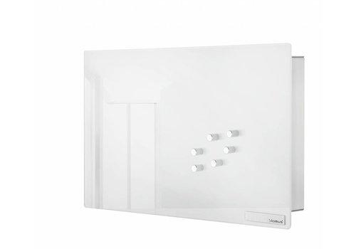 BLOMUS Velio key cabinet / magnetic board height 20cm (White)