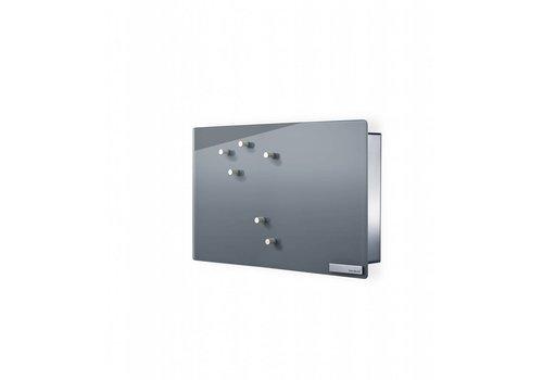 BLOMUS Velio key cabinet / magnetic board height 20cm (Gray)